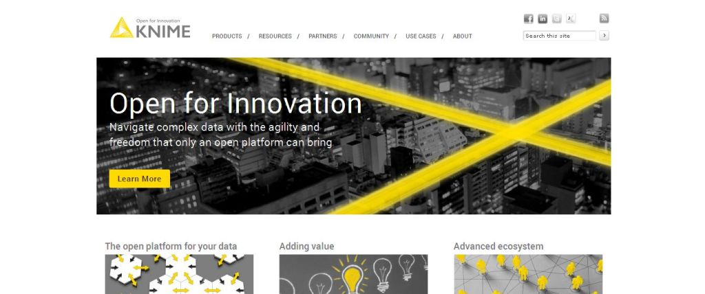 KNIME I Open for Innovation