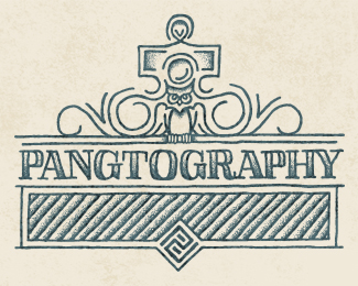 Pangtography logo design