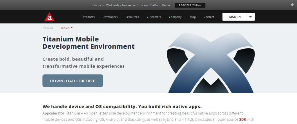 Titanium Mobile Application Development I Appcelerator Inc