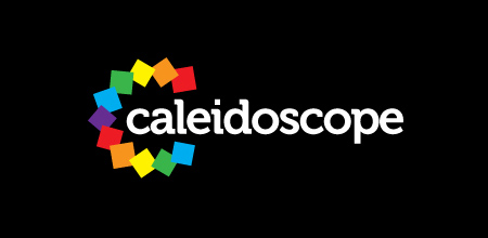 Sequential Type Logo Designs Caleidoscope