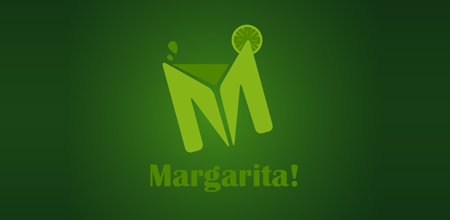margarita green logo Design