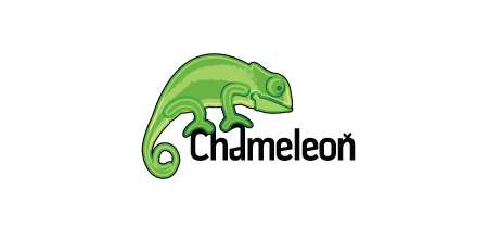 chameleon Green logo design