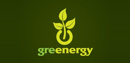 greenergy Green logo design