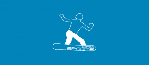 Masculine Logo Designs BOARD SPORTS