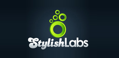 stylish labs Green logo design