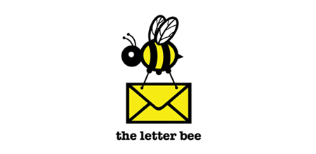 the letter bee creative logo
