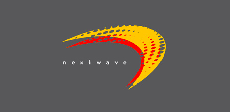 Sequential Type Logo Designs nextwave