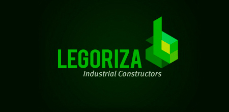 legoriza Green logo design
