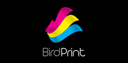 Sequential Type Logo Designs BirdPrint