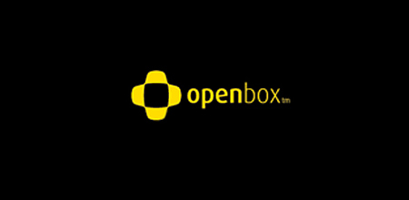 open box yellow Creative logo