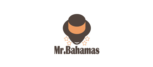 Masculine Logo Designs Mr.Bahamas