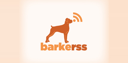 dog logo design barkerss logo