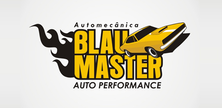 blau master yellow Creative logo