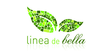 linea de bella Green logo design