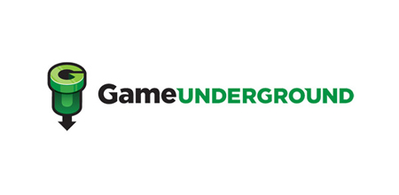 game underground Green logo design