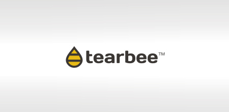 tear bee creative logo