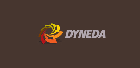 Sequential Type Logo Designs DYNEDA