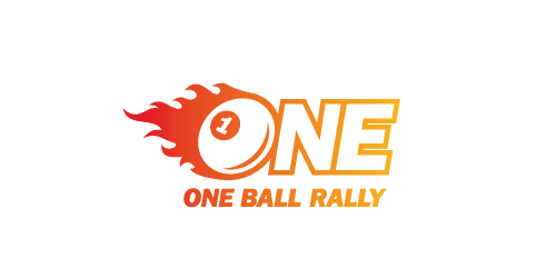 Logo Design One Ball Rally