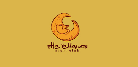 yellow moon Creative logo