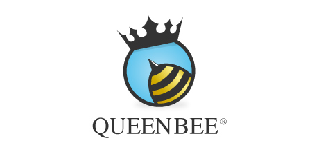 queen bee creative logo