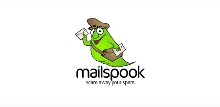 mailspook green logo Design
