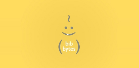 bib bytes yellow Creative logo