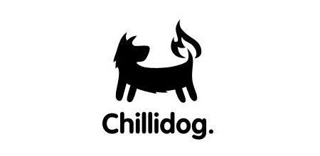 dog logo design chilli dog logo