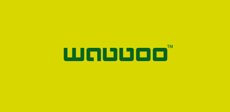 wabboo Green logo design