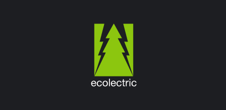 ecolectric Green logo design