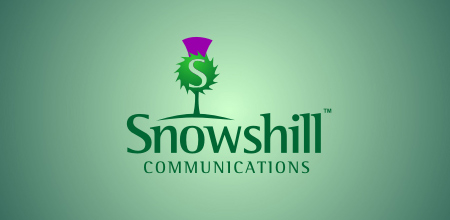 snow hill Green logo design