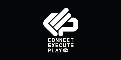 Logo Design Connect Execute Play