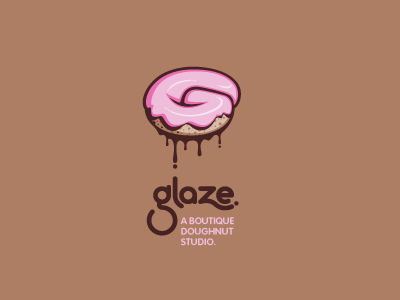 Pink Colored Logo Designs 4