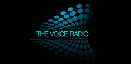 Sequential Type Logo Designs The voice radio