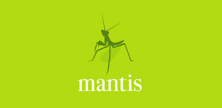 mantis green logo Design