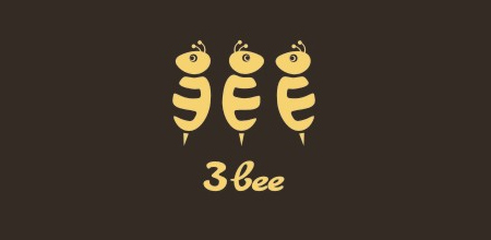 3 bee creative logo