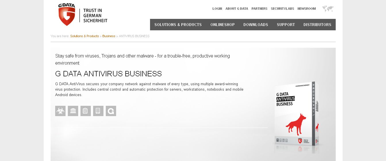 ANTIVIRUS BUSINESS - G DATA Software AG
