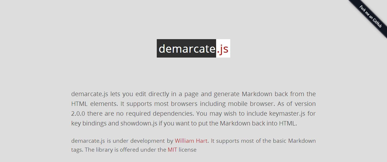 About demarcate_js