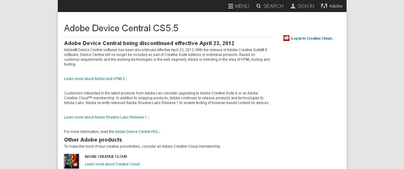 Adobe Device Central CS5_5 - Adobe_com