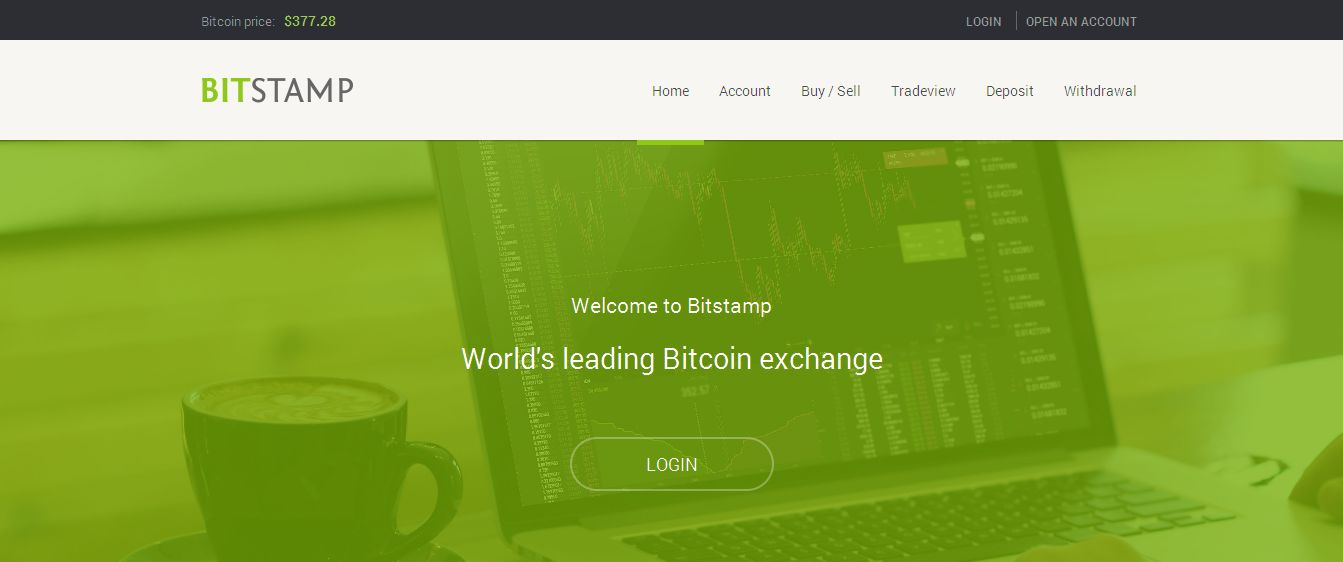Bitstamp - buy and sell bitcoins