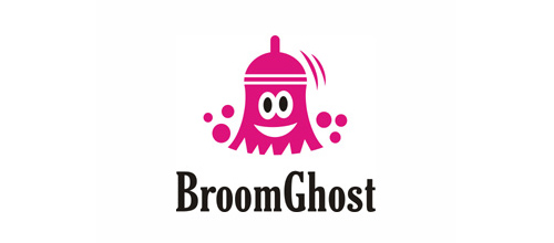 logo design BroomGhost