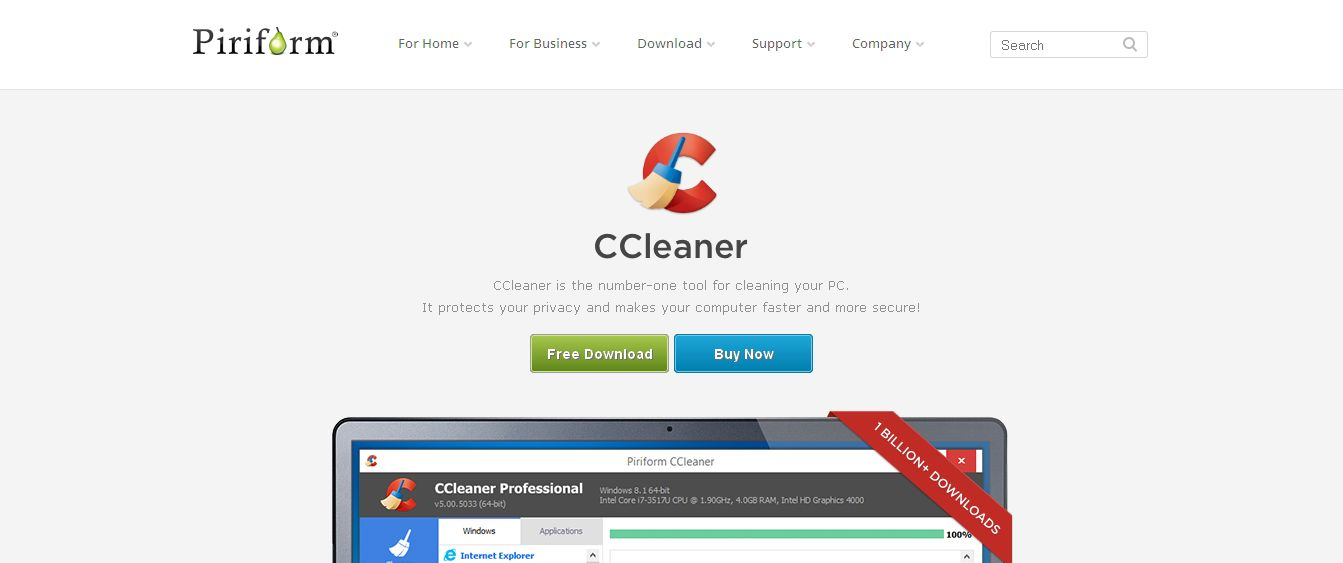 CCleaner - PC Optimization and Cleaning - Free Download