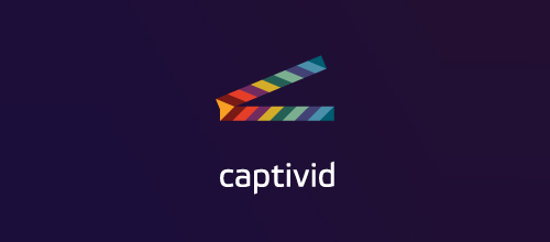 Multicolor Logo Designs Captivid