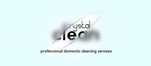 logo design Crystal Clear