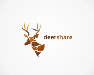Deershare Beautiful Animal and Pet Logo Designs