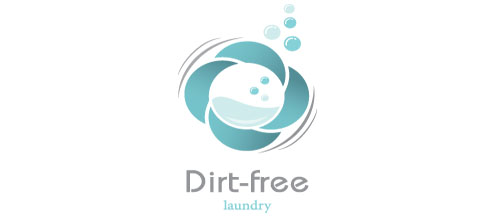 logo design Dirt Free Laundry
