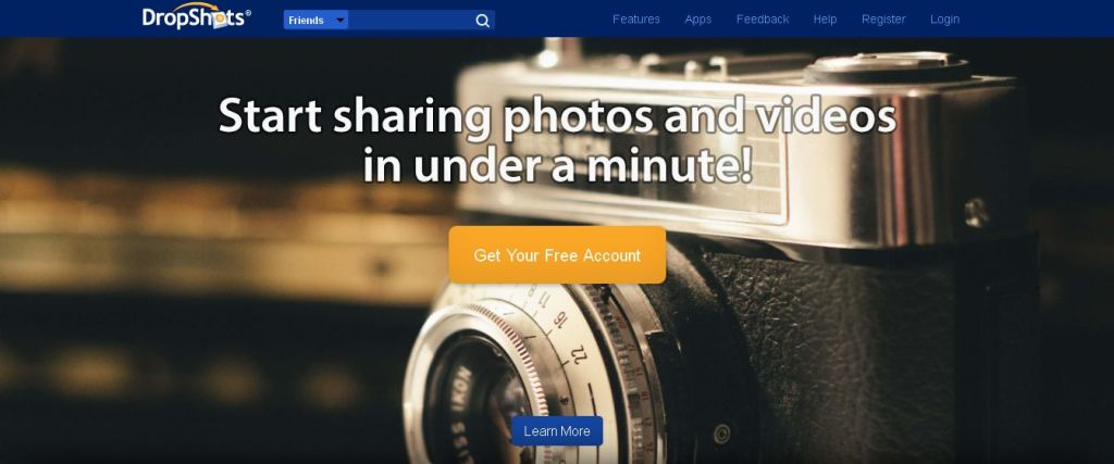 DropShots- Free Video Hosting & Photo Sharing; No Advertising_ Upload Now