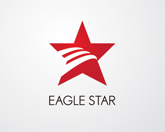 Eagle Star Logo Design Idea
