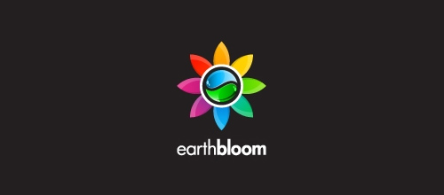 Multicolor Logo Designs Earth Bloom