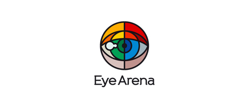 Multicolor Logo Designs Eye Arena