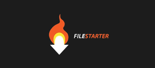 Hot Burning And Fire Logo Design FileStarter